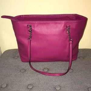 Magenta/Pink Michael Kors bag!